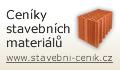 Ceníky stavebních výrobků, materiálů, hmot a prací pro tvorbu rozpočtů